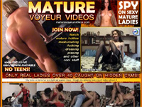 Mature Voyeur Videos - 3 day trial - $8.95. Only Real Ladies Over 40 Caught on Hidden Cams!