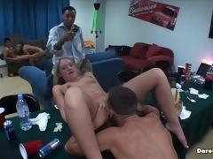My college roommates and i set up cams all over the dorm to show our wild college babe sex parties